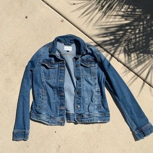 Light blue jean jacket